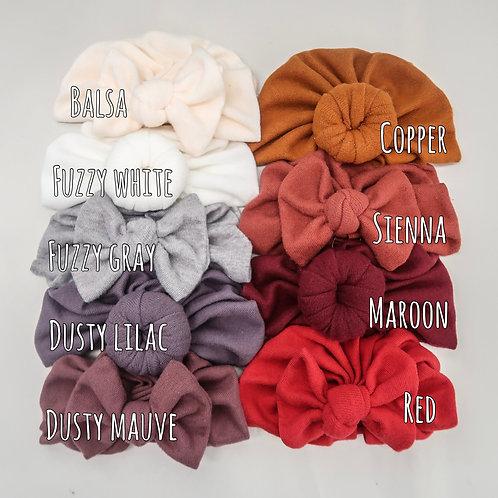 Sweater Knit Turbans