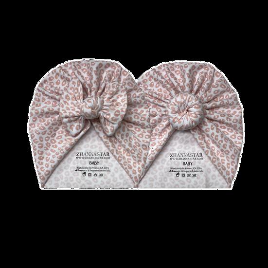 Pink Leopard Headwrap Hat