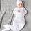 Thumbnail: PRE-ORDER Organic Infant Gown - Cora Floral Print