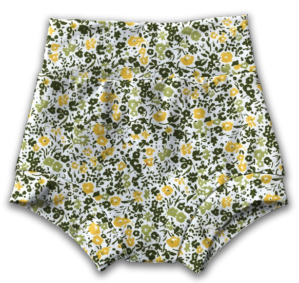 Ditsy Floral  Bummies