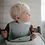 Thumbnail: Silicone Baby Bib | White Letters