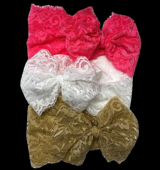 Lace Bows Headbands