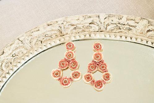 Garden Rose Earrings