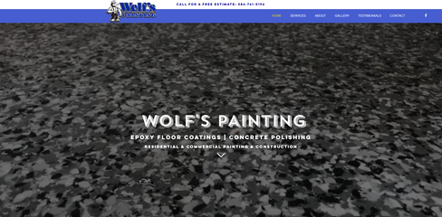 Wolfs Painting