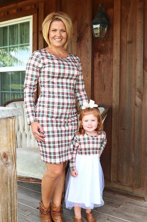Plaid Dress - Mommy Dress