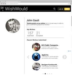 Entity profile on web.