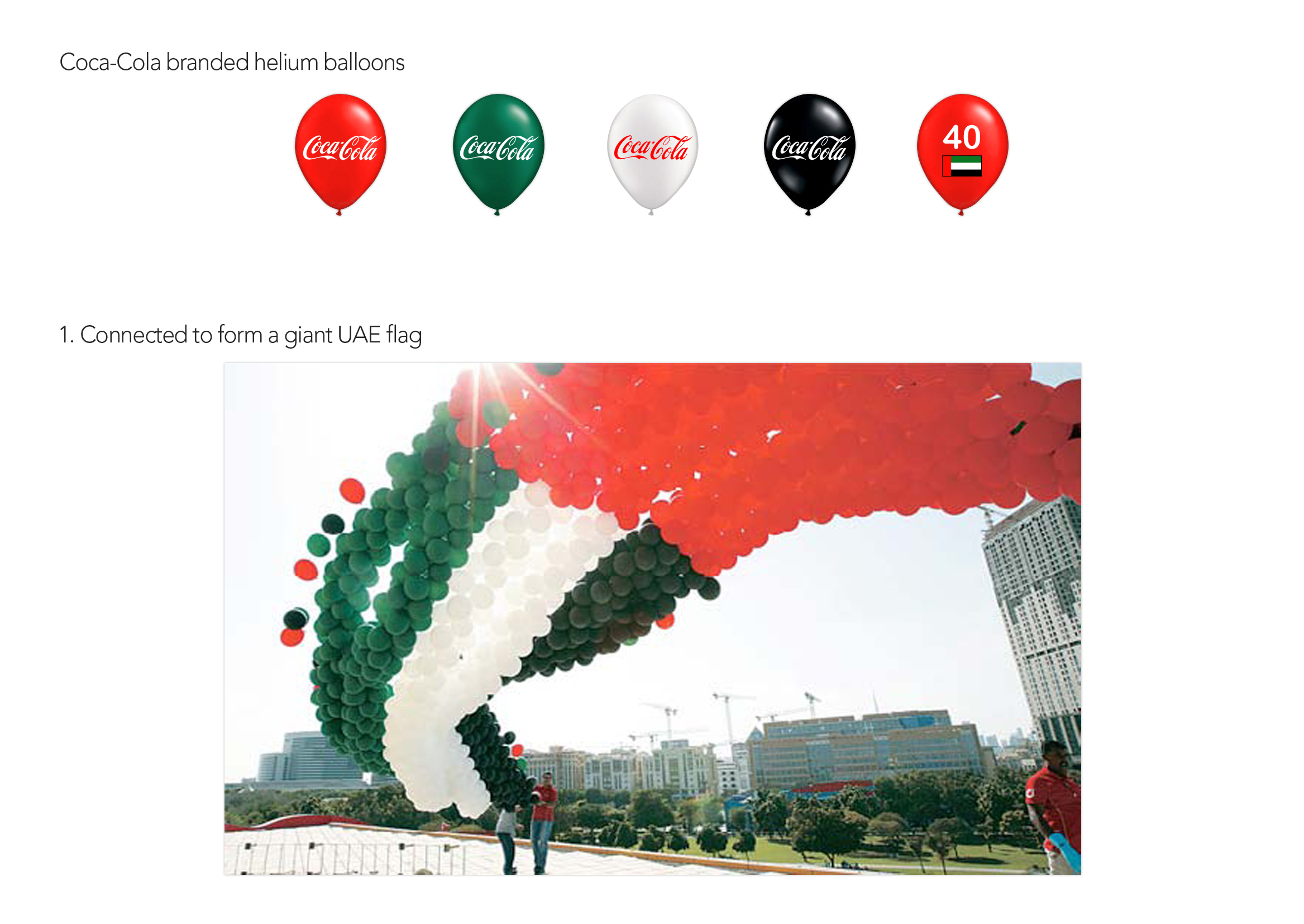 CocaCola-UAE40yrs-Campaign-giantflag