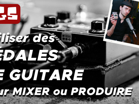 MIXER avec des PÉDALES de guitare : l'astuce pour créer de nouveaux sons