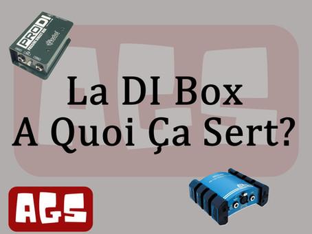 La DI box à quoi ça sert?