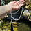 Thumbnail: Japamala Quartzo Transparente com Lápis Lazúli
