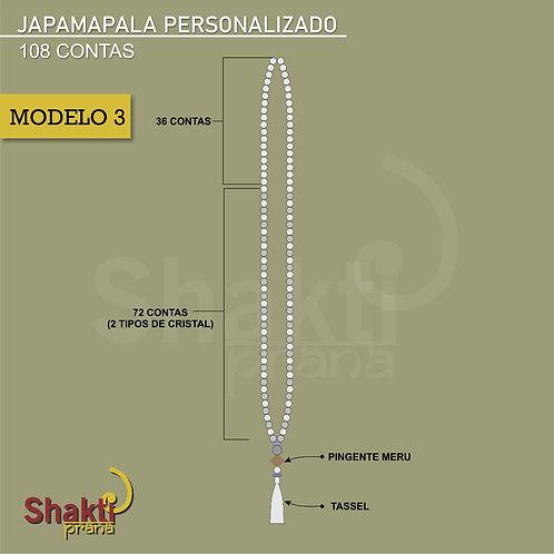 Japamala Personalizado 3  (8 mm)