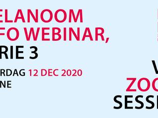 12 December: Melanoom info webinar huidmelanoom