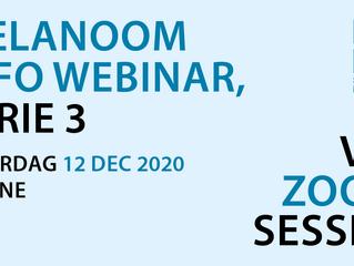 12 December: Melanoom Info Webinar oogmelanoom