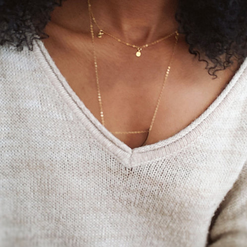 Vermeil Choker | Gold-Filled | Accent Chain