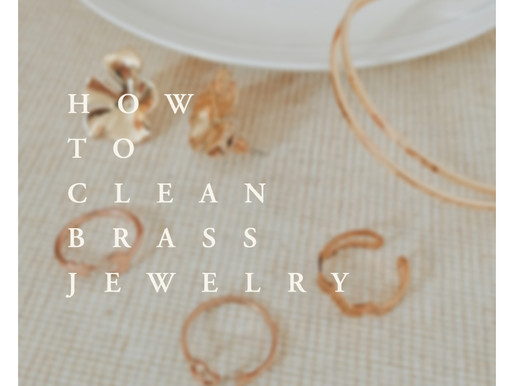 Natural tips for cleaning your brass jewelry