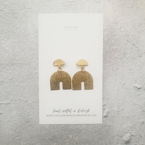 """Isa"" | Geometric Shaped Earrings"