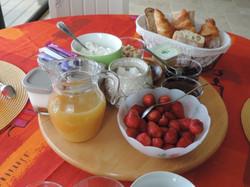 Breakfast  home made