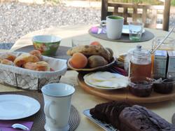 Petit déjeuner des hôtes