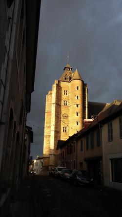 gothic church of monein