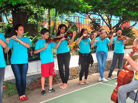 Música no processo de ensino-aprendizagem.