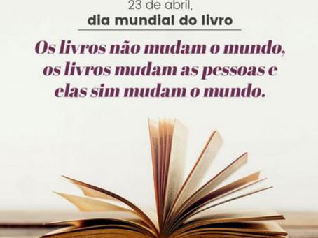 LIVROS: HÁBITO DE LEITURA NOS ESTUDOS (Homenagem ao Dia Internacional do livro 23 de Abril)