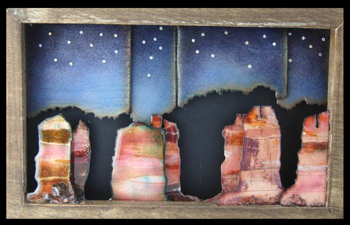 Night Scene in Moab