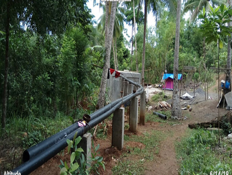 Tubi Hali sa Lapinig, Taberna Gagamiton sa LGU Water System