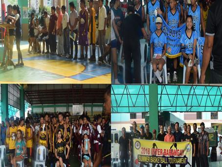 Basketball Tournament Para Sa Summer nan Fiesta Pinangunahan San Mga SK