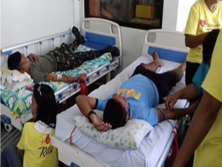 Regular Na Pag Donar Sin Dugo Sa Sta. Magdalena Municipal Health Office