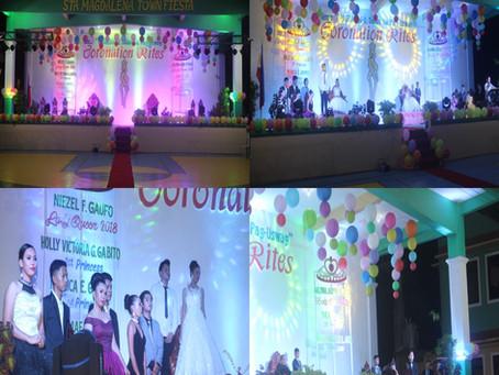 Coronation Night San Fiesta Queens & Princesses
