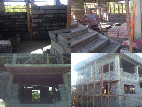 Permanente Na Building san PNP in Batogan Na