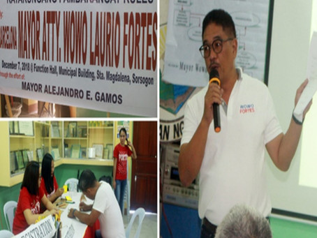 Workshop nan Lecture Sa Katarungan Pambarangay