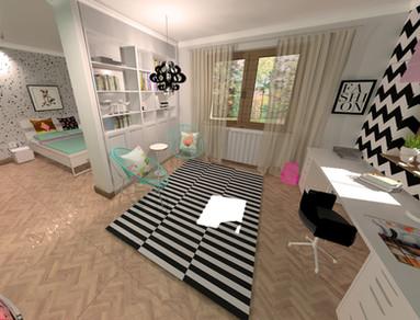 Kamasz lány szobája