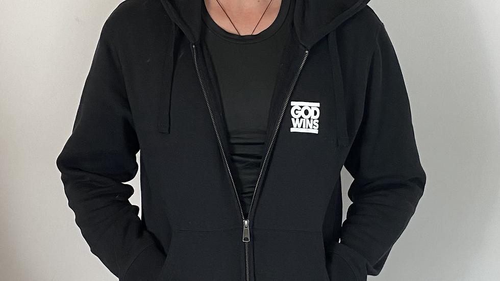 GOD WINS Zip hoodie