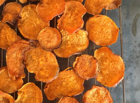 The power house of potato crisps (aka Sweet Potato)