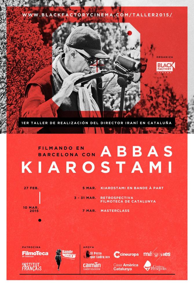 Taller de Abbas Kiarostami, Barcelona 2015 Black Factory