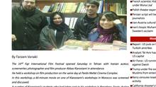 Al sol, en la prensa Irani.