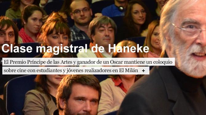 Michael Haneke Premio Príncipe de Asturias de las Artes 2013