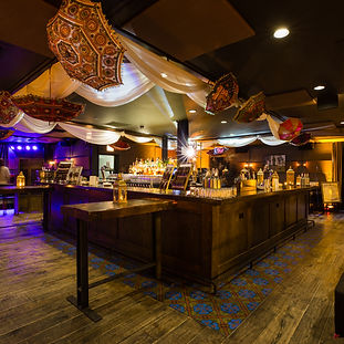Bar desgn for this Boho Chic 40th Brthday arty in Chiago at The Dawson.  Event Planing by Megan Estrada, event planner chicago