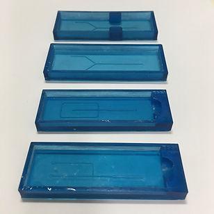 Microfluidic mold / mould / cast