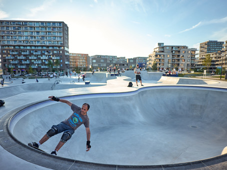 Skate heaven in Amsterdam