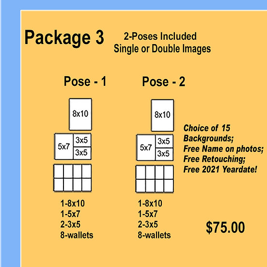Package 3 - Two Poses