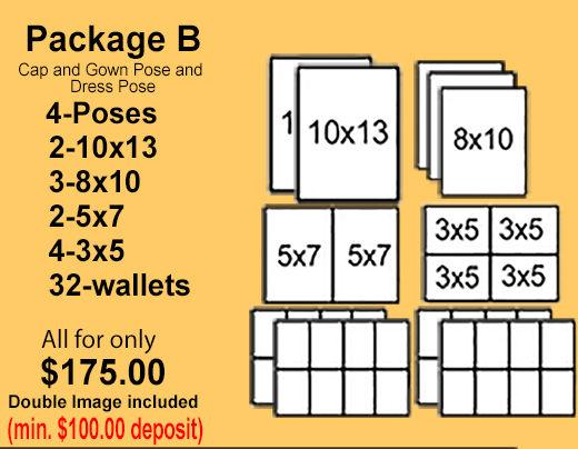 Pkg-B)  - Pay In Full - $175