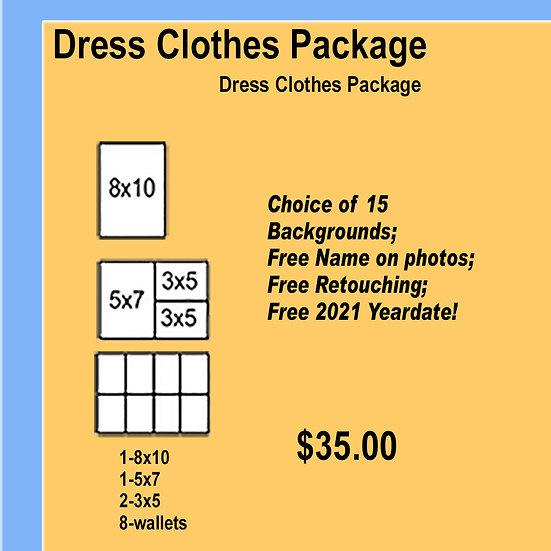 Add On Dress Package