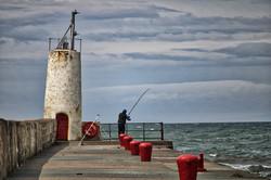 Fisherman at Girvan