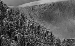 Men  versus mountain