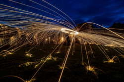 sparks in the castle