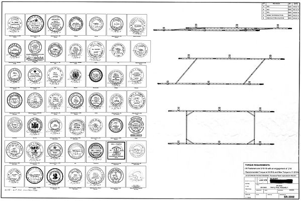 State-by-State Engineered and Stamped Drawings