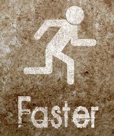 The RAQ is faster