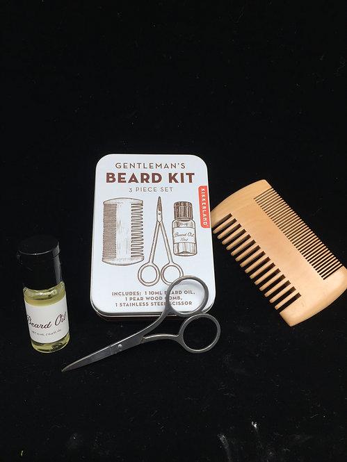 Kit barba básico